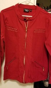 Onque Casual red jacket size L